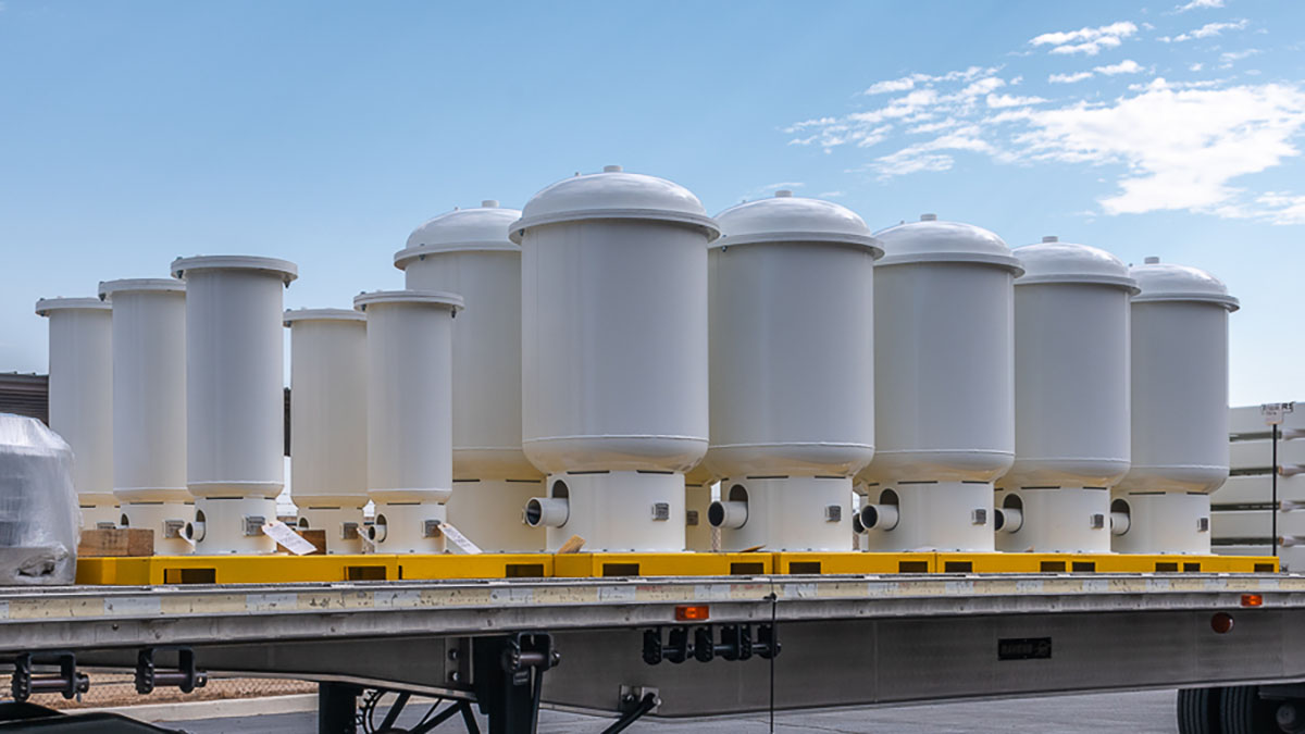 Tanks for Medical and Industrial Oxygen Generators