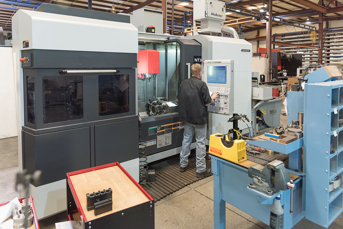 DMG Mori Seiki NTX 2000/1500 Mill Turn Lathe