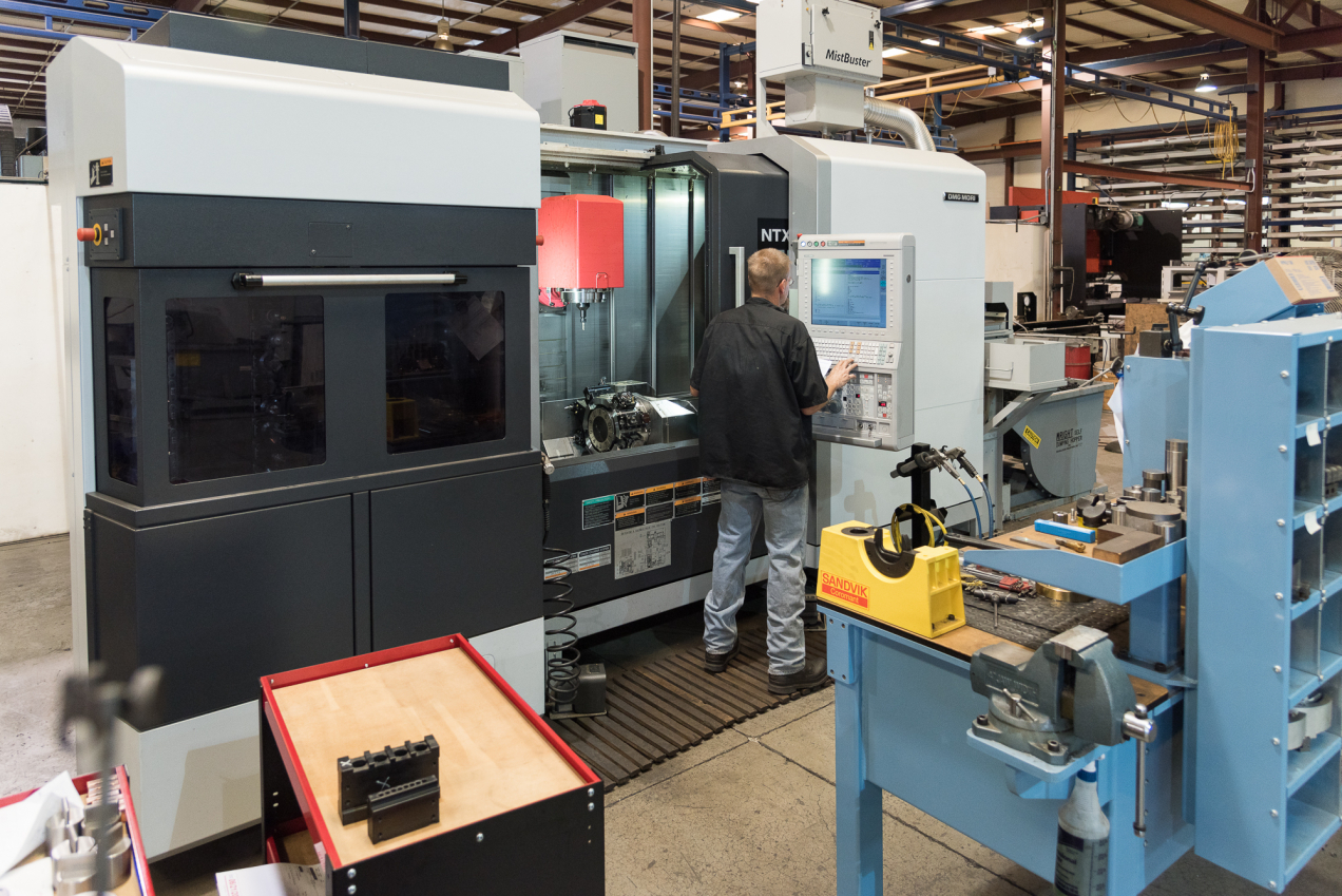 Mori Seiki NTX 2000 Mill Turn Lathe